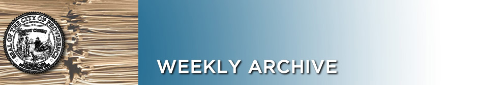 Weekly Archive